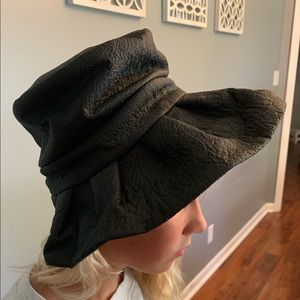 Beautiful vintage Union made leather hat